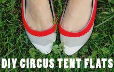 Secondhand Sundays: DIY Circus Tent Flats