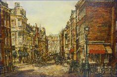 Borgert Cornelis van Ettinger - Frederikstraat in Den Haag, 1967