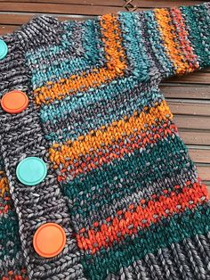Jess and Taylor by Elena Nodel | malabrigo Rios in Plomo, Sunset, Glazed Carrot, Reflecting Pool and Teal Feather