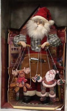 Santa puppeteer