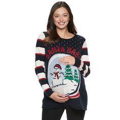 97cd8a5a DIY maternity ugly christmas sweater   Holiday: Christmas   Diy ugly ...