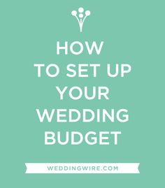 Because budgeting for your wedding doesn't have to be scary-- Click to learn how!