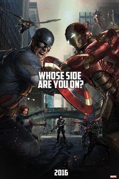 Les plus belles affiches de fans de Captain America Civil War - punmagneto