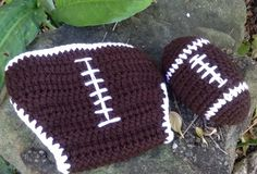 Hey, I found this really awesome Etsy listing at https://www.etsy.com/listing/111037065/babys-crocheted-football-diaper-cover