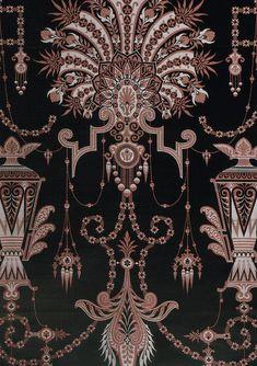 Textile Prints, Textile Design, Textiles, Pattern Art, Pattern Design, Flower Art Images, Paisley Art, Flower Henna, Damask Wallpaper