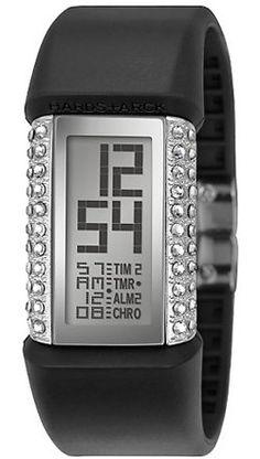 Sheen SHN-1001F-4A Fashion Women Rectangle Dial Digital Watch ...