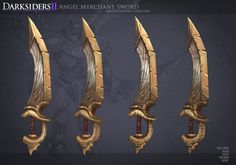 DS2: Angel Merchant Sword 1 by MissMaddyTaylor on DeviantArt