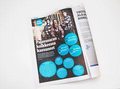 Yrittäjäsanomat newspaper redesign, #newspaper #redesign