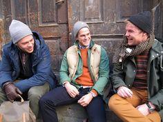 Cool guys! More here:    http://retro.no/2012/09/gatesmarte-gutter/