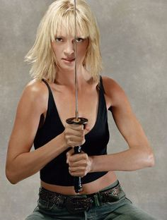 Uma Thurman.  Kill Bill 1 and 2.  Need I say more?