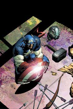 Avengers #503 by David Finch