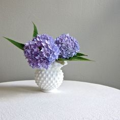 hobnail milk glass.