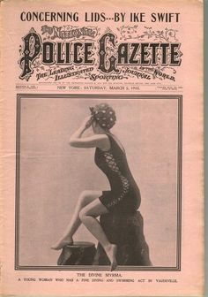 The National Police Gazette March 5, 1910