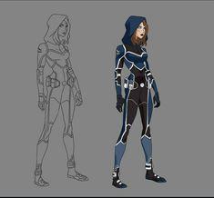 Superhero Costumes Female, Superhero Suits, Superhero Characters, Superhero Design, Fantasy Characters, Marvel Comics Superheroes, Batman Comics, Super Hero Outfits, Super Hero Costumes