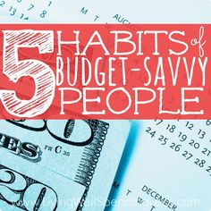 These 5 habits are a must if you want to become financially successful. I truly believe they make all the difference!