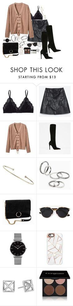 """""""Untitled #463"""" by el-khawla on Polyvore featuring Talula, mizuki, MANGO, NLY Accessories, Christian Dior, Topshop, Casetify, Rebecca Minkoff, Gorgeous Cosmetics and philosophy"""