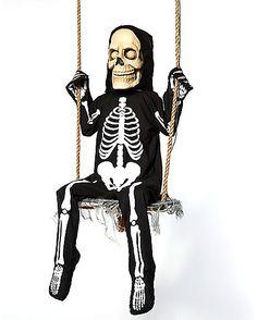 Swinging Skeleton Boy - Spirithalloween.com
