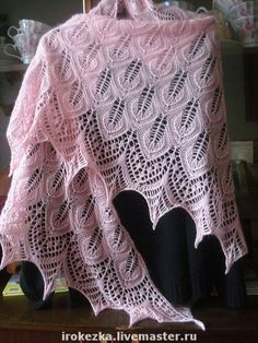 shawl w/charts http://www.ravelry.com/patterns/library/modell-118-9-duftig-gestricktes-dreiecktuch-mit-lochmuster                                                                                                                                                      Mehr