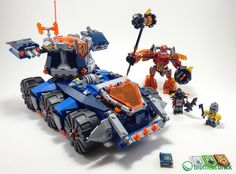 LEGO Nexo Knights 70322: Axl's Tower Carrier   70321: General Magmar's Siege…