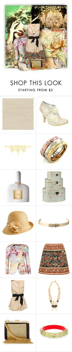 """""""Untitled #825"""" by wildnature ❤ liked on Polyvore featuring November, Irregular Choice, Fantasy Jewelry Box, Tom Ford, Betmar, Ted Baker, Tory Burch, Vero Moda, Lizzie Fortunato and Balmain"""