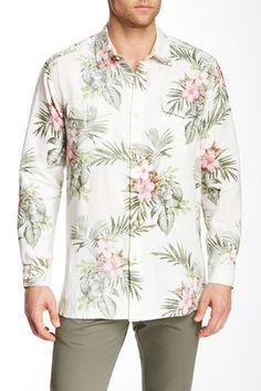 Santorini Breezer Linen Long Sleeve Regular Fit Shirt