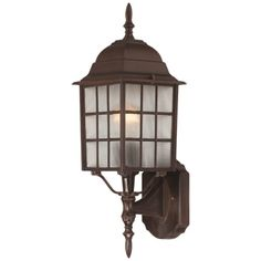 I pinned this Adams Outdoor Wall Lantern I in Rustic Bronze from the Nuvo event at Joss and Main!