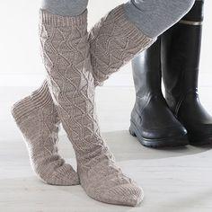 Knee Socks, Boot Socks, Needles Sizes, Stockinette, Mittens, Stitch Patterns, Slippers, Legs, Wool