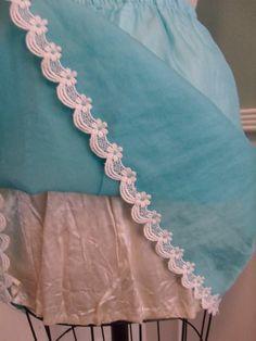 Blue Slip Rockabilly VLV Pin Up Embroidery Suits Punjabi, Hand Embroidery Dress, Embroidery Suits Design, Hand Embroidery Patterns, Punjabi Suit Boutique, Punjabi Suits Designer Boutique, Cutwork Saree, Cotton Saree Designs, Mini Slip