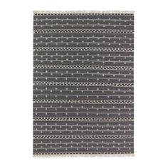 """АЛЬВИНЕ РАНД Ковер, безворсовый IKEA Ковер изготовлен вручную. Каждый ковер уникален. Знак """"Woolmark""""; 100% натуральная чистая шерсть."""