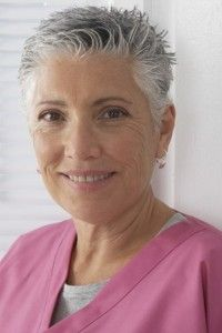 hairstyles-for-older-ladies-Spiky crew cut