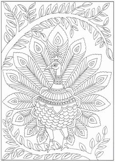 Peacock Coloring Pages Printable - Free Coloring Sheets Peacock Coloring Pages, Detailed Coloring Pages, Bird Coloring Pages, Pattern Coloring Pages, Mandala Coloring Pages, Printable Coloring Pages, Adult Coloring Pages, Coloring Sheets, Coloring Books