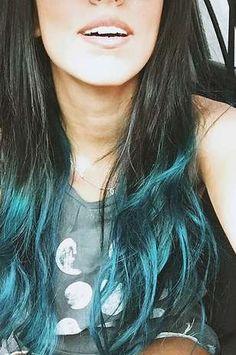 cabelo turquesa tumblr - Pesquisa Google