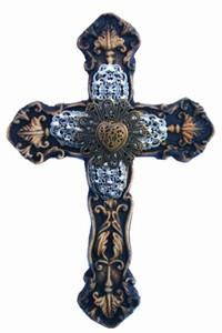 Tatiana Embellished Wall Cross