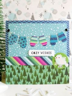 Pebbles - Winter Wonderland - Cozy Christmas card
