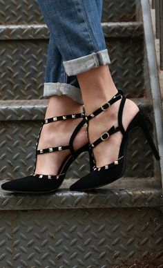 suede and studs