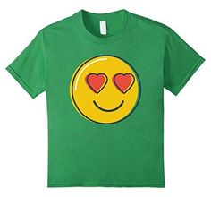 Love Emoji T-Shirt Heart Eyes Smiley Emoji Shirt