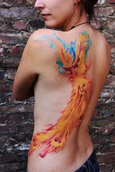 watercolor tattoo,wattercolour tattoo,Ted Bartnik,Wasserfarben tattoo,Tattoo Unna,Tattoo Dortmund