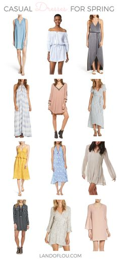Casual Dresses For Spring