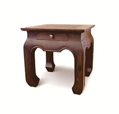 The opium side / end table is handcrafted from the best quality solid mahogany wood. It is perfect as a nightstand, end table, hallway table or bathroom stand. You will cherish this multi-generational piece for many years to come. By acquiring this unique and authentic piece fine furniture, you... see more details at https://bestselleroutlets.com/home-kitchen/furniture/accent-furniture/product-review-for-nes-furniture-nes-fine-handcrafted-furniture-solid-mahogany-wood-opium-s