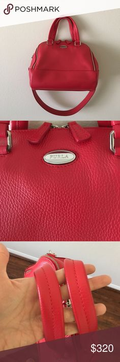 FURLA Handbag/Shoulder bag Used only once in like new condition! No imperfections! Made in Italy! Removable stap. Can be wear as shoulder bag or Handbag. ❌No trade Furla Bags