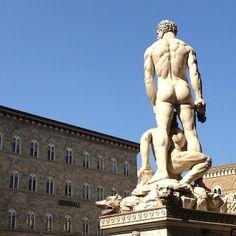 Firenze, Piazza della Signoria by @madmichy