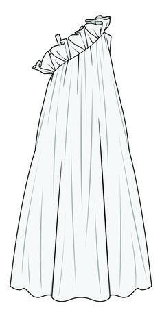 McCall's Pattern Misses' Pleated Surplice or Plunging-Neckline Rompers, Jumpsuits & Belt Fashion Design Sketchbook, Fashion Design Portfolio, Fashion Illustration Sketches, Fashion Design Drawings, Fashion Sketches, Design Illustrations, Illustration Art, Fashion Flats, Fashion Art