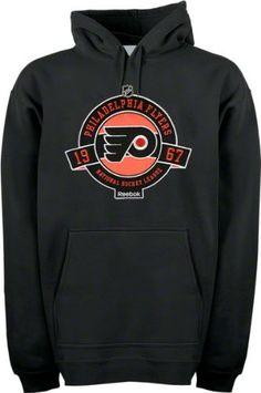 328a0049019 Philadelphia Flyers Black Hockey Seal Fleece Hooded Sweatshirt by Reebok.   49.99. Confidently display your