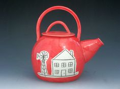 Teapot by bellajoy on Etsy, $100.00