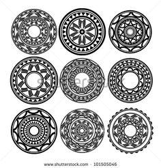 Maori / Polynesian Style Tattoo Stock Photo 101505046 : Shutterstock