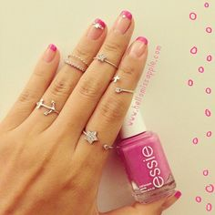 Love the nail bling