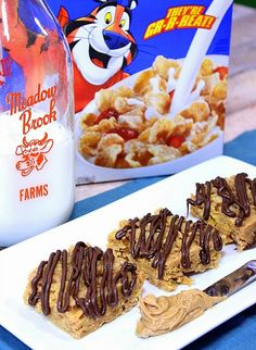 Chocolate Drizzled Peanut Butter Tiger Paws are not only good...they're GRRREAT!