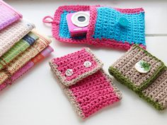 Iphone or camera case - free pattern