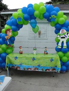 Toy Story Balloon Arch