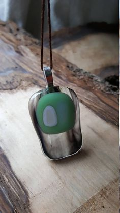 My pendants are inspired by contemporary art spanning the 20th century. Tapping into the contemplative nature of the nonfigurative style of the abstract expressionism such as Frank Stella, Delaunay, and Rothko. Glass has been used for thousands of years in art, science, and the improvement of everyday life. Fusing glass together is an art that brings together sand from before there was measurable history, with the ancient fires that shaped our modern times. Wearing glass is not just about a…